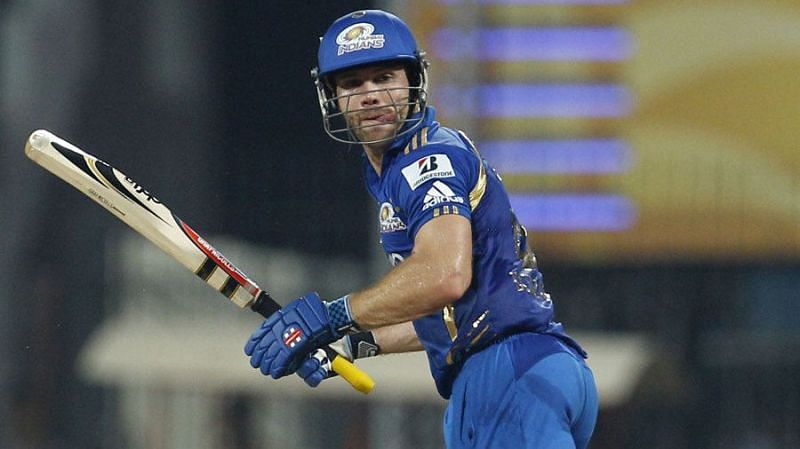 Aiden Blizzard played for the Mumbai Indians in 2011