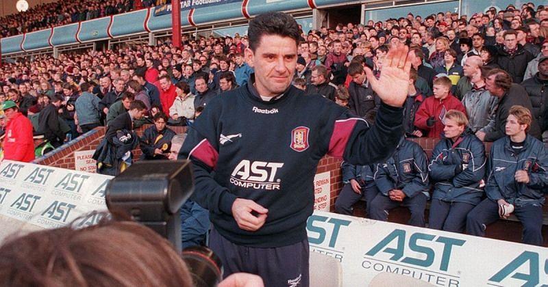 Aston Villa boss John Gregory wasn