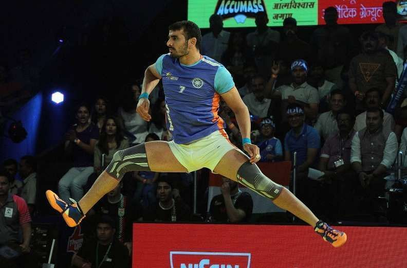 Ajay Thakur felt he did not deserve to be in his kabaddi dream team