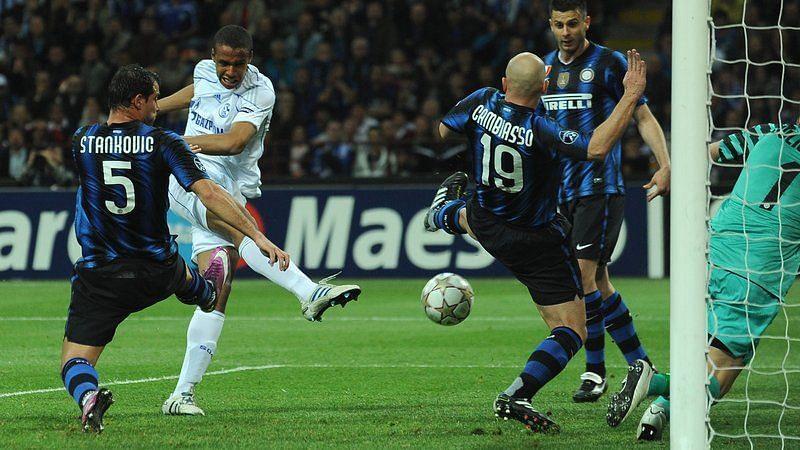 Schalke trounced Internazionale in 2011-12
