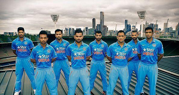 Team India Unveils New One Day International Kit