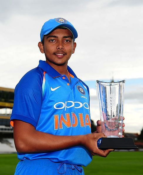 Prithvi Shaw Biography, Achievements, Career Info, Records & Stats -  Sportskeeda