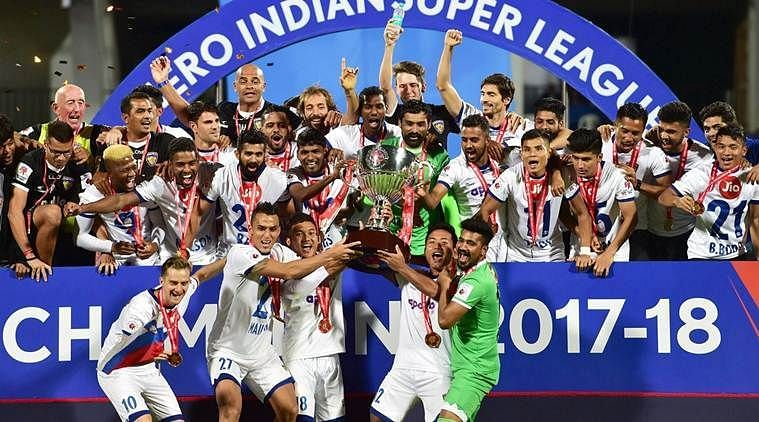 Chennaiyin FC are the champions of ISL 2017-18