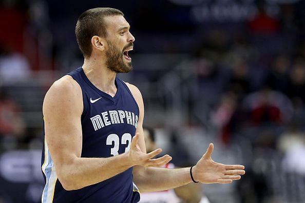 Things not looking good for Marc Gasol and Co.