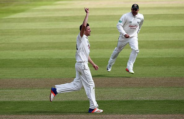 Nottinghamshire v Sussex Specsavers County Championship: Division Two