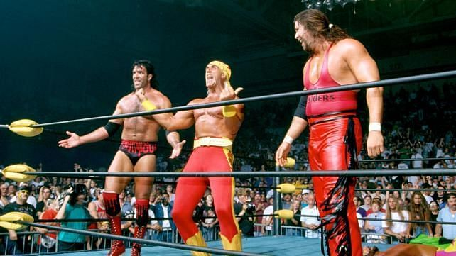 Hogan turns heel at Bash at the Beach 1996