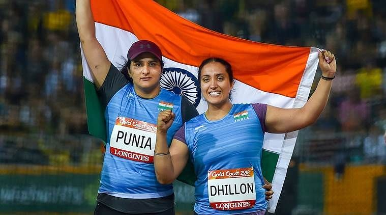 Athletics at CWG 2018 : Seema Punia wins her 4th consecutive Commonwealth medal
