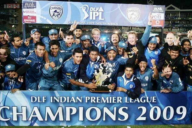 Deccan Chargers won the IPL in 2009