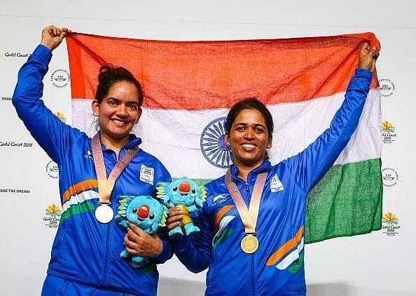Anjum Mudgil and Tejaswini Sawant