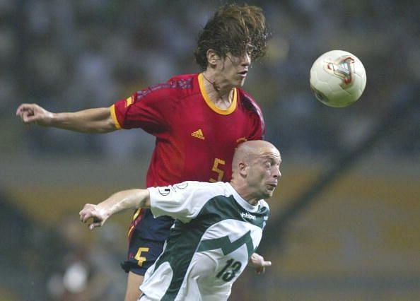 Carles Puyol 2002 World Cup
