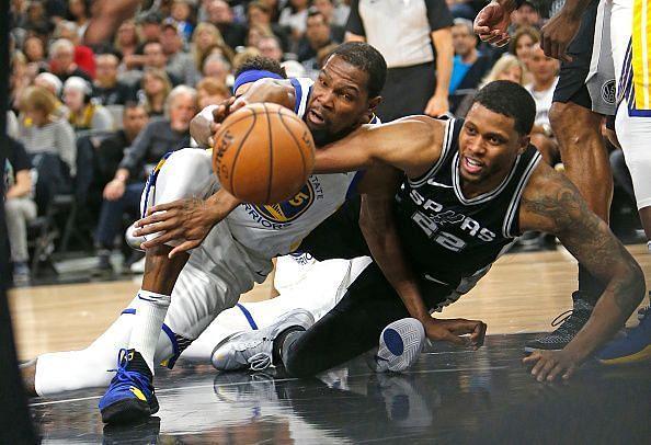 Golden State Warriors v San Antonio Spurs-Game Four