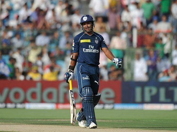 Kumar Sangakkara got out for a duck against RR