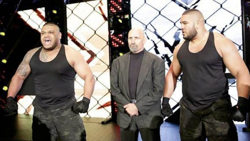 The Authors of Pain and their former manager Paul Ellering