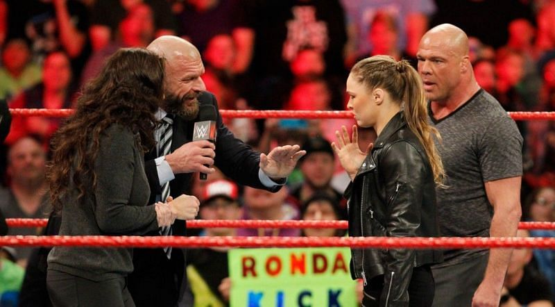 Image result for stephanie mcmahon ronda rousey