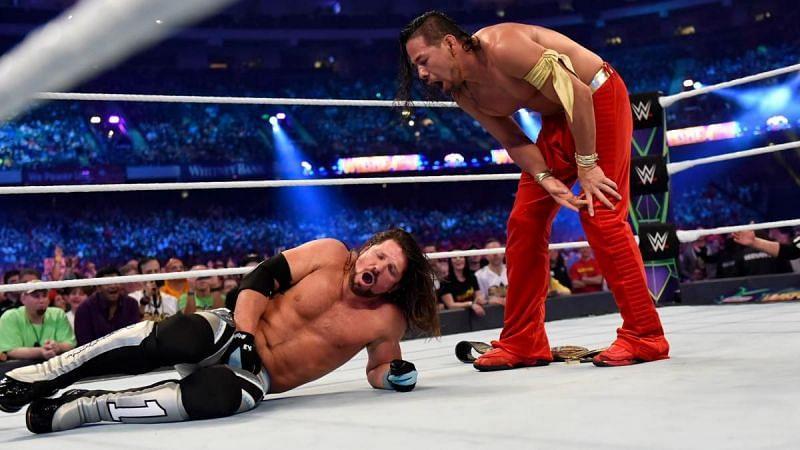 Nakamura is definitely not done with AJ Styles yet