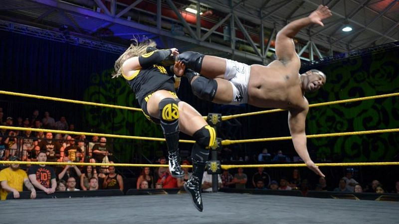Keith Lee vs Kassius Ohno at WWE Axxess