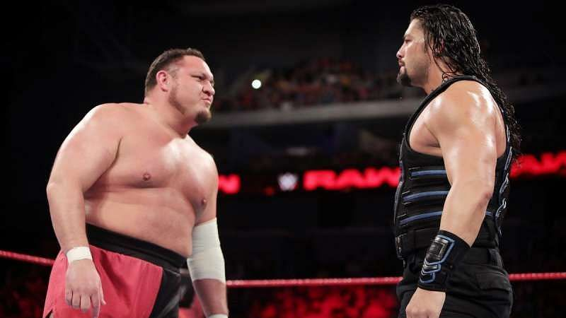 Roman Reigns vs Samoa Joe has already been announced for Backlash
