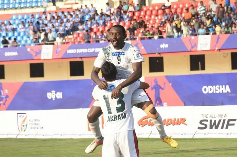 Dicka scored twice for the Mariners but in vein.