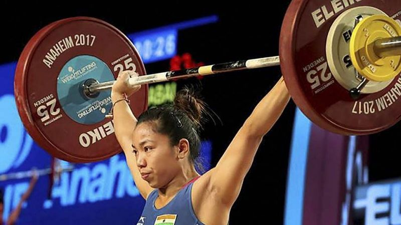 Mirabai Chanu won India's first gold medal in the 2018 Commonwealth Games at Gold Coast