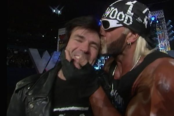 Hogan had a close relationship with Eric both on and off screen.