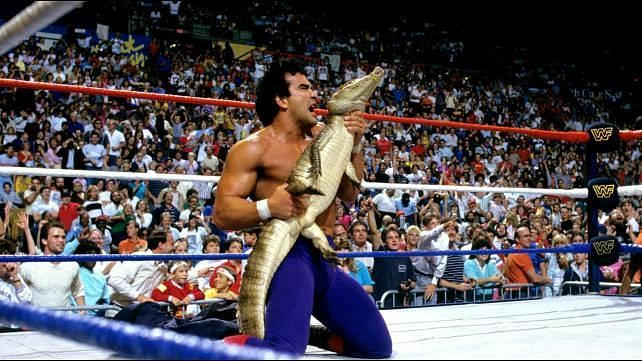 Ricky Steamboat regaled us with exciting tales from the professional wrestling world