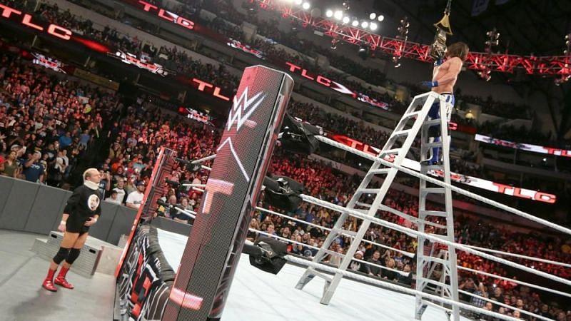 AJ Styles defeats Dean Ambrose at TLC