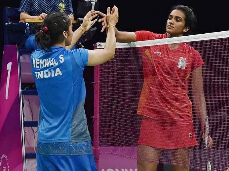 Pusarla Venkata Sindhu goes down to Saina Nehwal in Indian