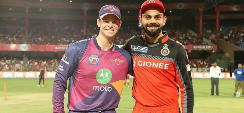 Steve Smith and Virat Kohli