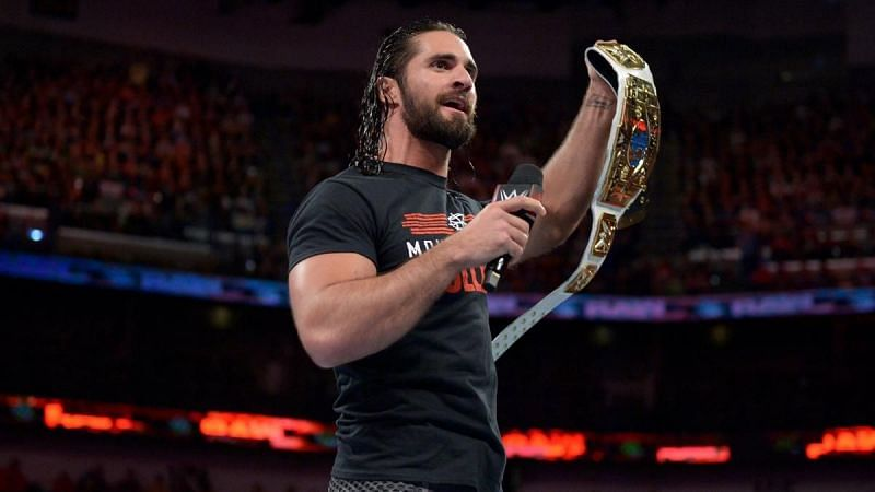 The mid-card title makes Rollins appear as a mid-card performer