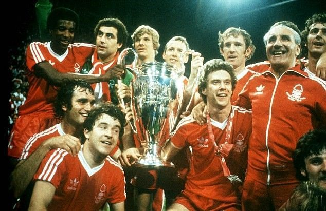 Nottingham Forest won back-to-back European cups