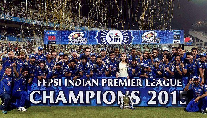 MI won their 2nd IPL trophy in 2015