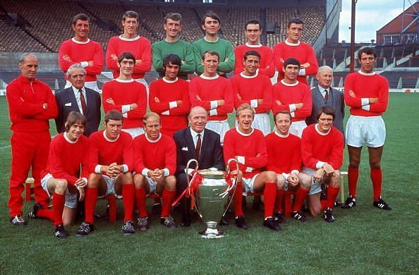 The 1968 European Cup winners