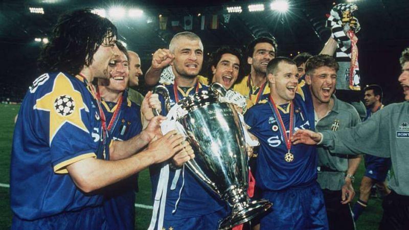 The 1996 Champions League winning team of Juventus