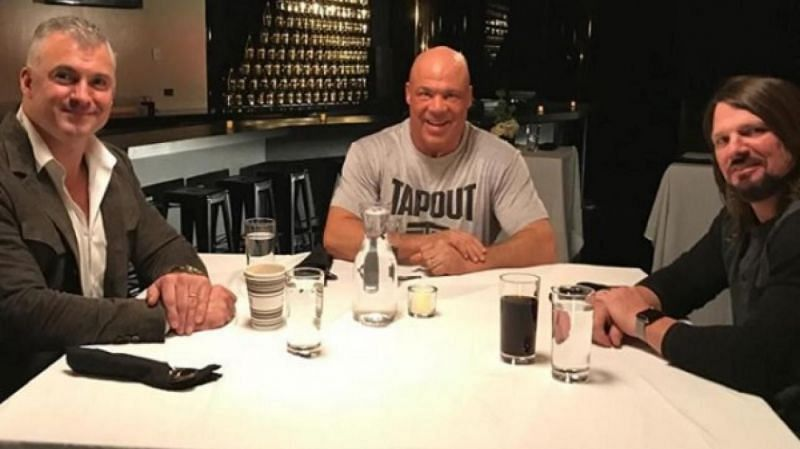 How was Impact Wrestling footage shown during Table for 3 recently?