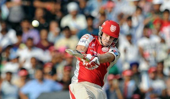 Kings XI Punjab batsman David Miller pla