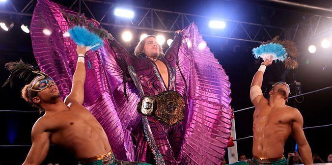 ROH world champion Dalton Castle and the Boys