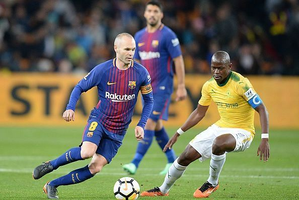 International Club Friendly: Mamelodi Sundowns v Barcelona FC