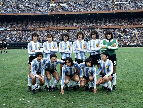 1978 FIFA World Cup Final  -  Argentina v Holland