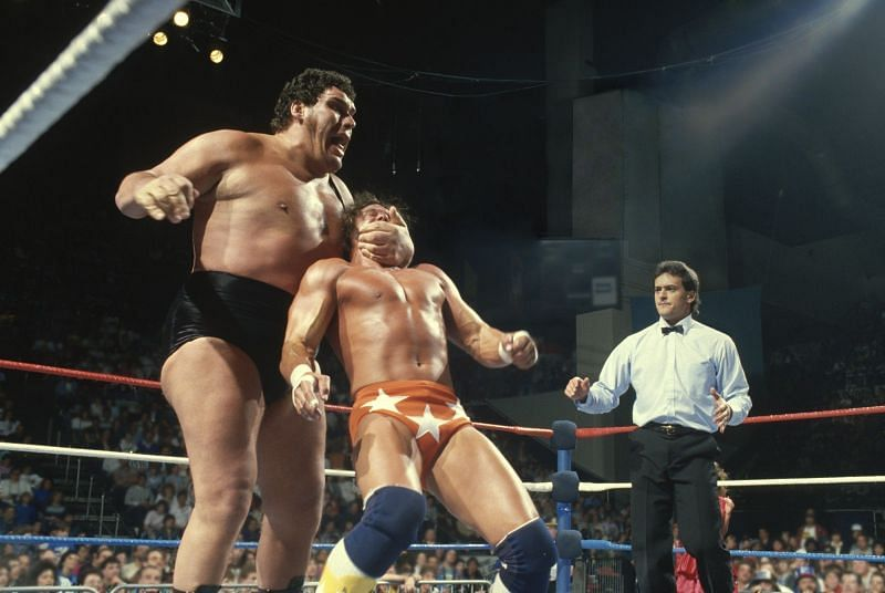 Andre the Giant vs. Macho Man Randy Savage