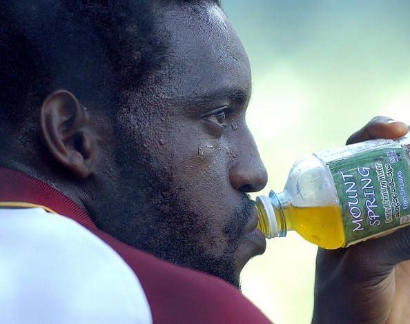 West Indies cricketer Jermaine Lawson dr
