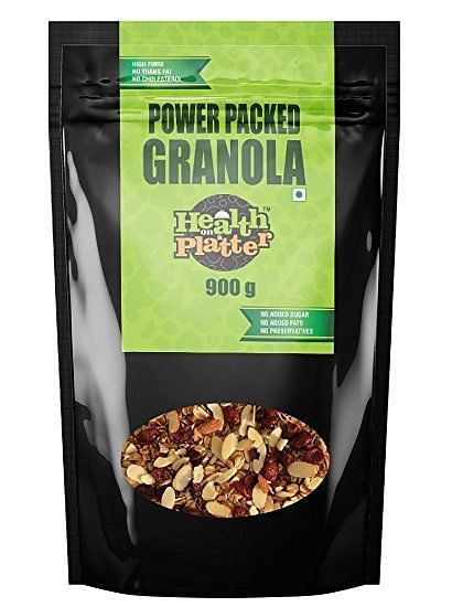 Health on a Platter Power Packed Granola