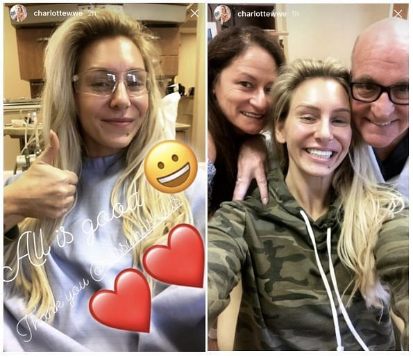 From Charlotte Flair