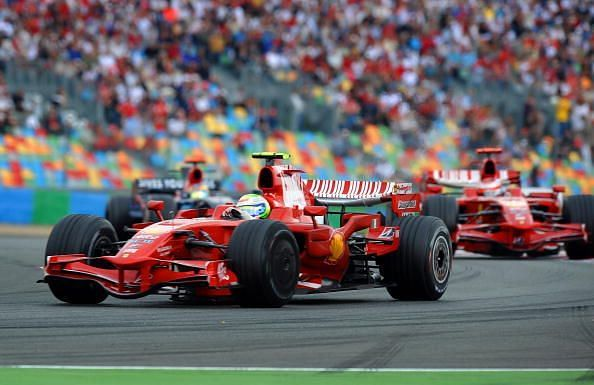 Ferrari Brazilian's driver Felipe Massa