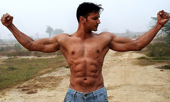 Strong chest keeps upper-body muscles in balance.