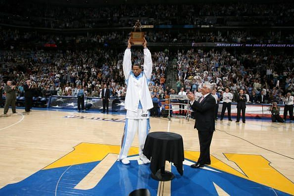 San Antonio Spurs v Denver Nuggets, Game 3
