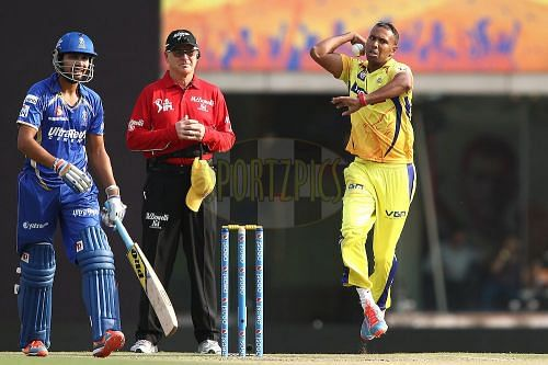 Samuel Badree was the No. 1 T20 bowler in the world in 2014