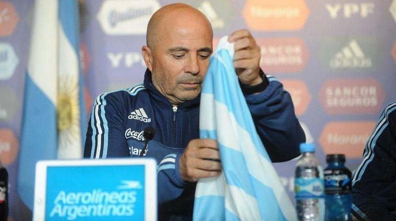 Enter: Jorge Sampaoli