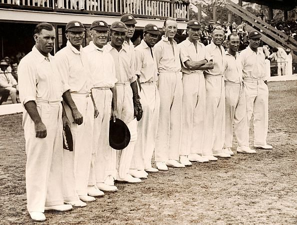 The MCC England Cricket Team In The West Indies
