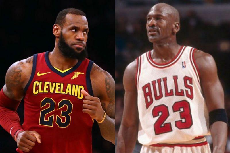 teléfono intervalo Darse prisa  Michael Jordan vs LeBron James: The 15-Year Comparison That Could End The  GOAT Debate