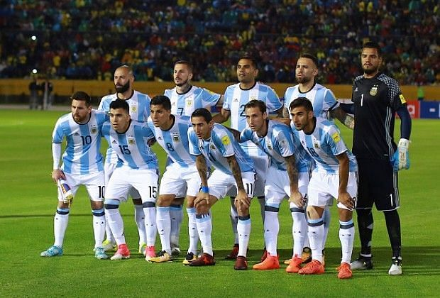 Image result for argentina world cup squad 2018